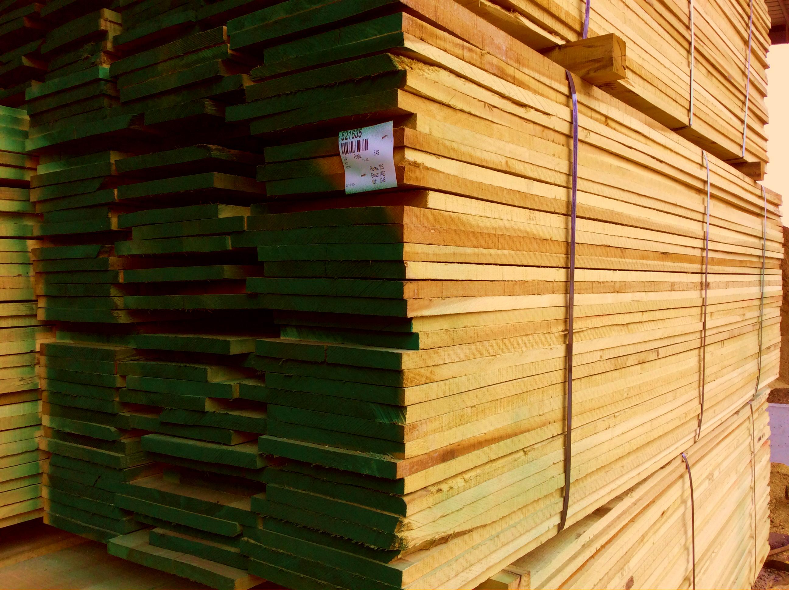 turman lumber packs with green 2