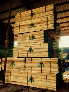 Turman Lumber packs with green logo